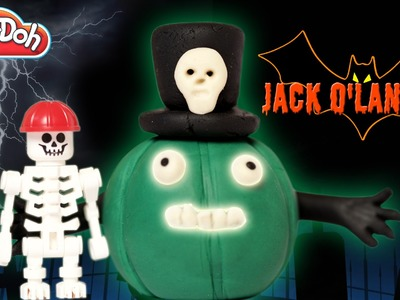 Play Doh Halloween Jack O Lantern | Jack O Lantern | How To Make Halloween Jack O Lantern