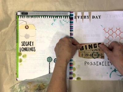 Process Video - Magazine Journal Part 2