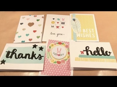 Quick & Easy Cards Using Shimelle's Little by Little Collection