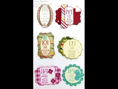 Stampin' Up! UK Card Candy & Convention Swaps