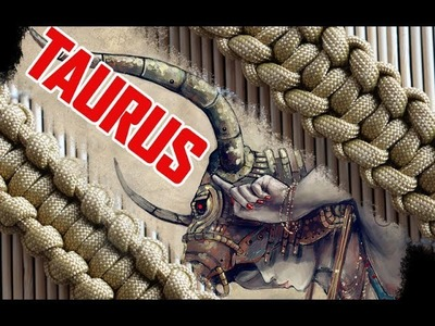 Taurus Paracord Bracelet Tutorial