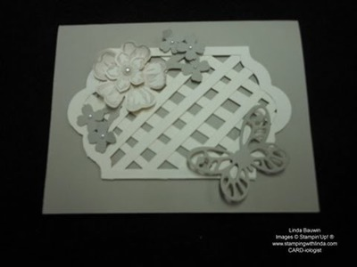 Tips on Making a Lattice Card