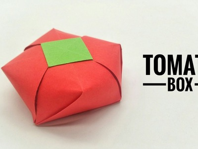 Tomato Gift Box - DIY Origami Tutorial by Paper Folds - 731