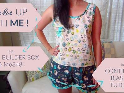 Wake Up With Me feat. Stash Builder Box + M6848 incl. a Continuous Bias Binding Tutorial