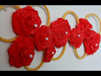 Wall Hanging With Bangles and Yarn | Wall Decor idea | Inspiration Kidzone