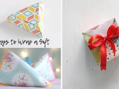 3 Ways to Wrap a Gift
