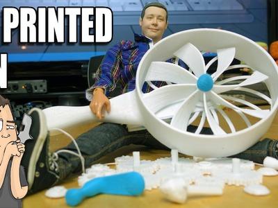 3D Printing, Assembling & Testing a Mechanical Hand Crank Fan