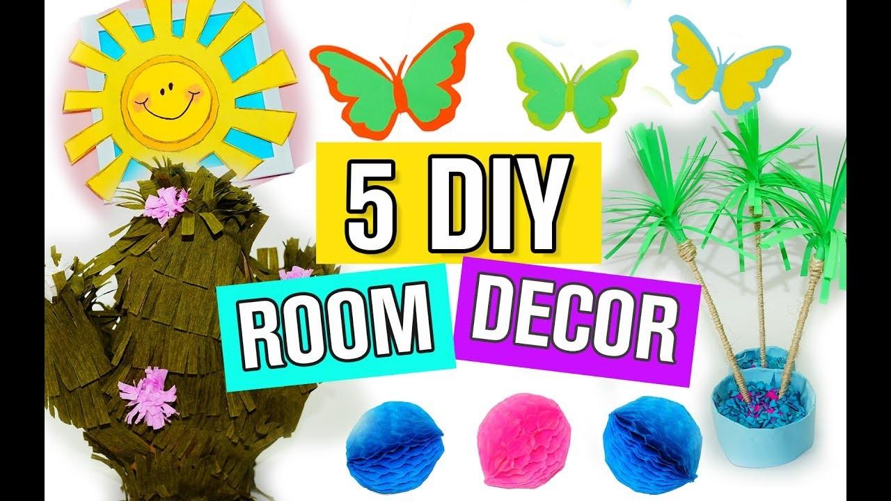 5 DIY Summer Room Decor Ideas
