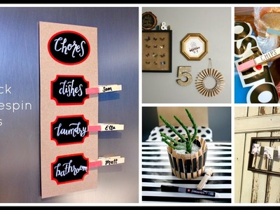5 Quick Clothespin Crafts