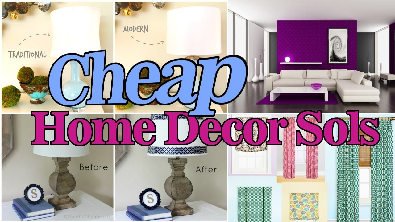 6 cheap home decor solution my crafts and diy projects for Diy home decorations for cheap