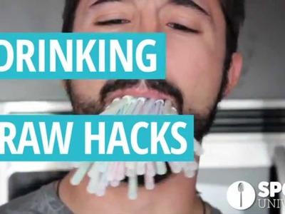 6 Drinking Straw Hacks