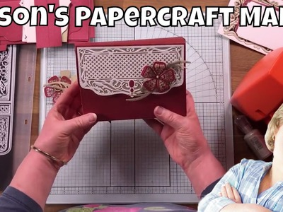 Alison's Papercraft Makes - Double Index Box Creation