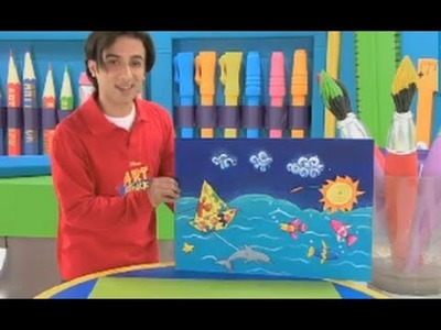 Art Attack | How to Make a Floating Paper Boat | Disney India Official
