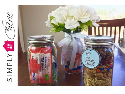 Back to School: 3 Simple Teacher Gift Ideas in Mason Jars {Ep. 3 of 4}