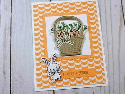 Basket Bunch Mini Series | Stampin' Up! Occasions Catalog 2017 | Day 1