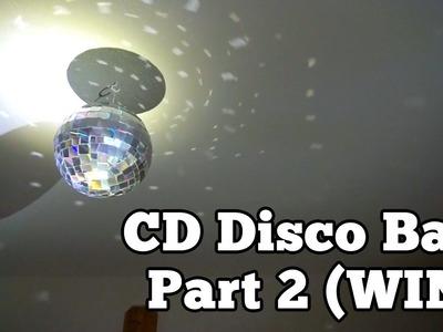 CD Disco Ball - Part 2 (Win) | Barb Makes Things #33