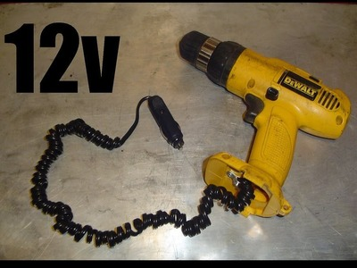 Converting a Drill to Automotive 12v