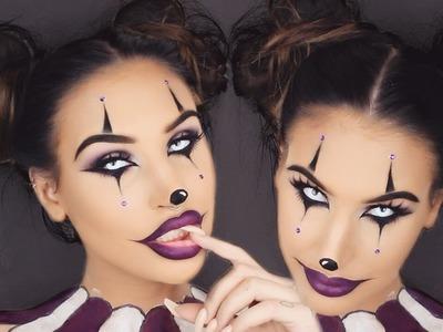Creepy Clown Girl | Halloween Makeup Tutorial