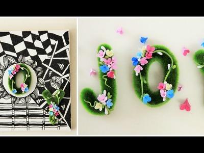 Deco clay flower tutorial #3 - DIY Deco Clay Floral  Wall Decor
