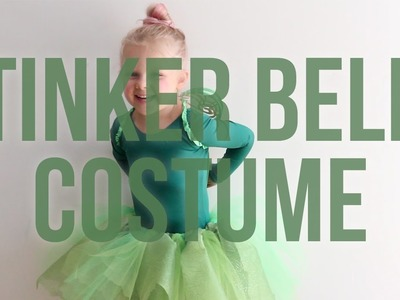 Disney's Tinker Bell No Sew Halloween Costume For Your Kid