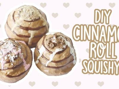 DIY Cinnamon Roll Squishy!    Make Your Own Squishy?!