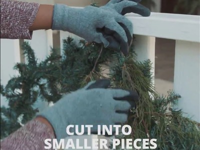 DIY Garland: How To Dress Up Cheap Garland