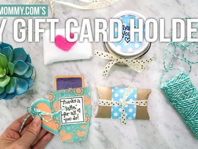 DIY GIFT CARD HOLDER IDEAS #Creator2Creator