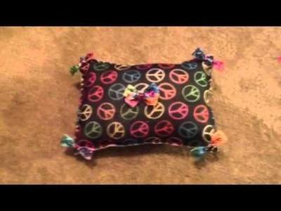 DIY kawaii felt pillow