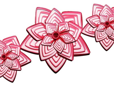 DIY Paper Quilling Flowers: How to make Paper Quilling Flower New design Ideas Quilling Made Easy