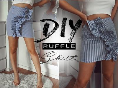 DIY skirt whit ruffle - Easy Sewing   Tijana Arsenijevic