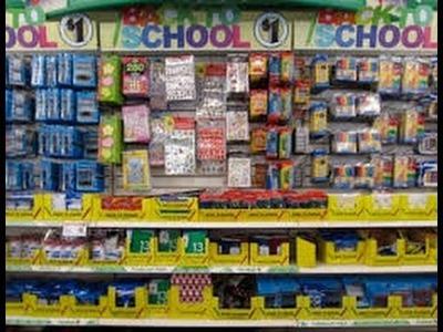 Dollar Tree Haul- BACK TO SCHOOL SUPPLIES! ????????✂️✏️July 10, 2016