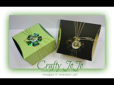 Elegant Gift Box with 2 trays - Tutorial -
