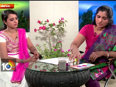 Finger Prints Painting Techniques | Artist Aparna | Sogasu | Manavi | 10TV