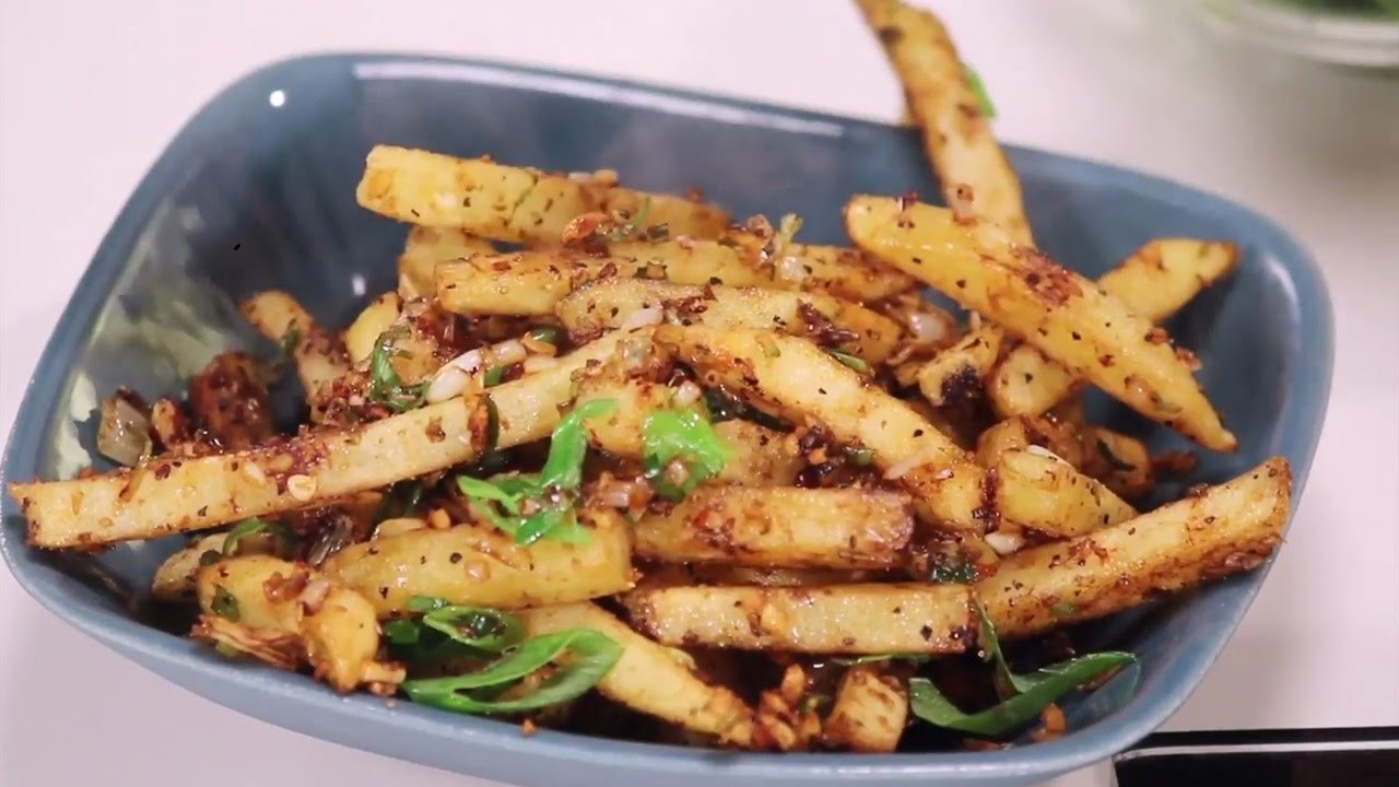 French Fries Pepper Salt | 5 Ways To Enchance French Fries | Sanjeev Kapoor Khazana