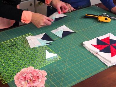 Happy Birthday Quilt Block-of-the-Month: Pinwheel Block   Riley Blake Designs