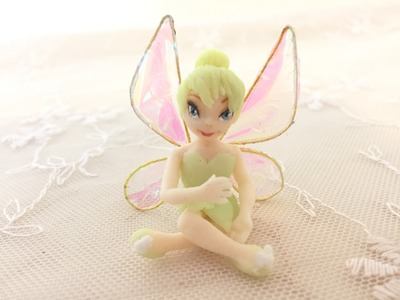 How I made Tinkerbell with fluorescent clay