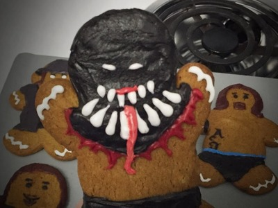 How to create your own WWE Superstar gingerbread men