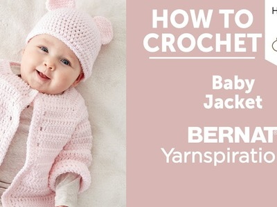 How to Crochet a Baby Jacket