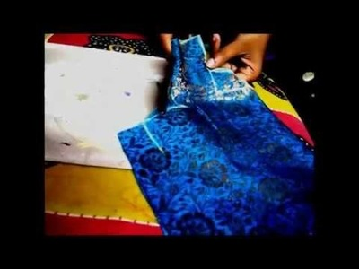 HOW TO CUT AND SEW LONG GOWN. SKIRT. GAGHRA CHOLI EASY WAY Part1