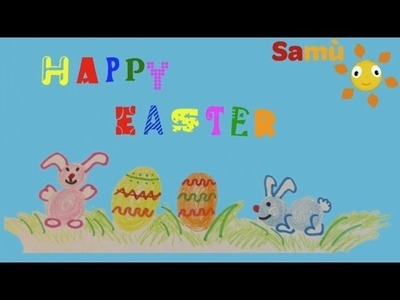HOW TO DRAW AN EASTER EGG - SIMPLE KIDS DRAWING - Learning for children, kids, babies