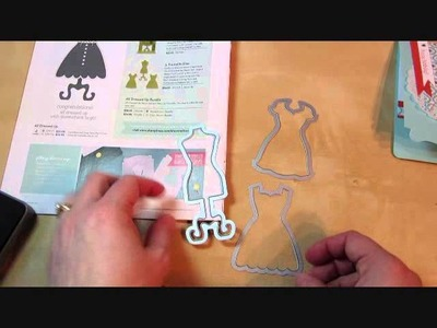 How To: Dress Form Pop N' Cut Dies from Stampin' Up!