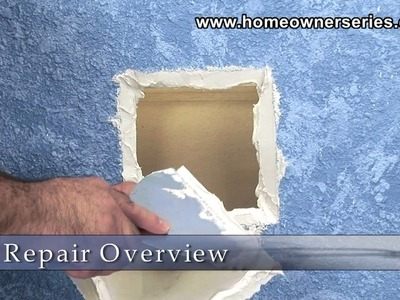 How to Fix Drywall - Pumpkin Patch - Part 1 of 3