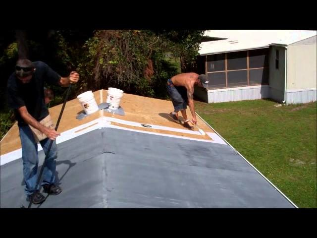 How to fix Leaking Mobile Home Roof