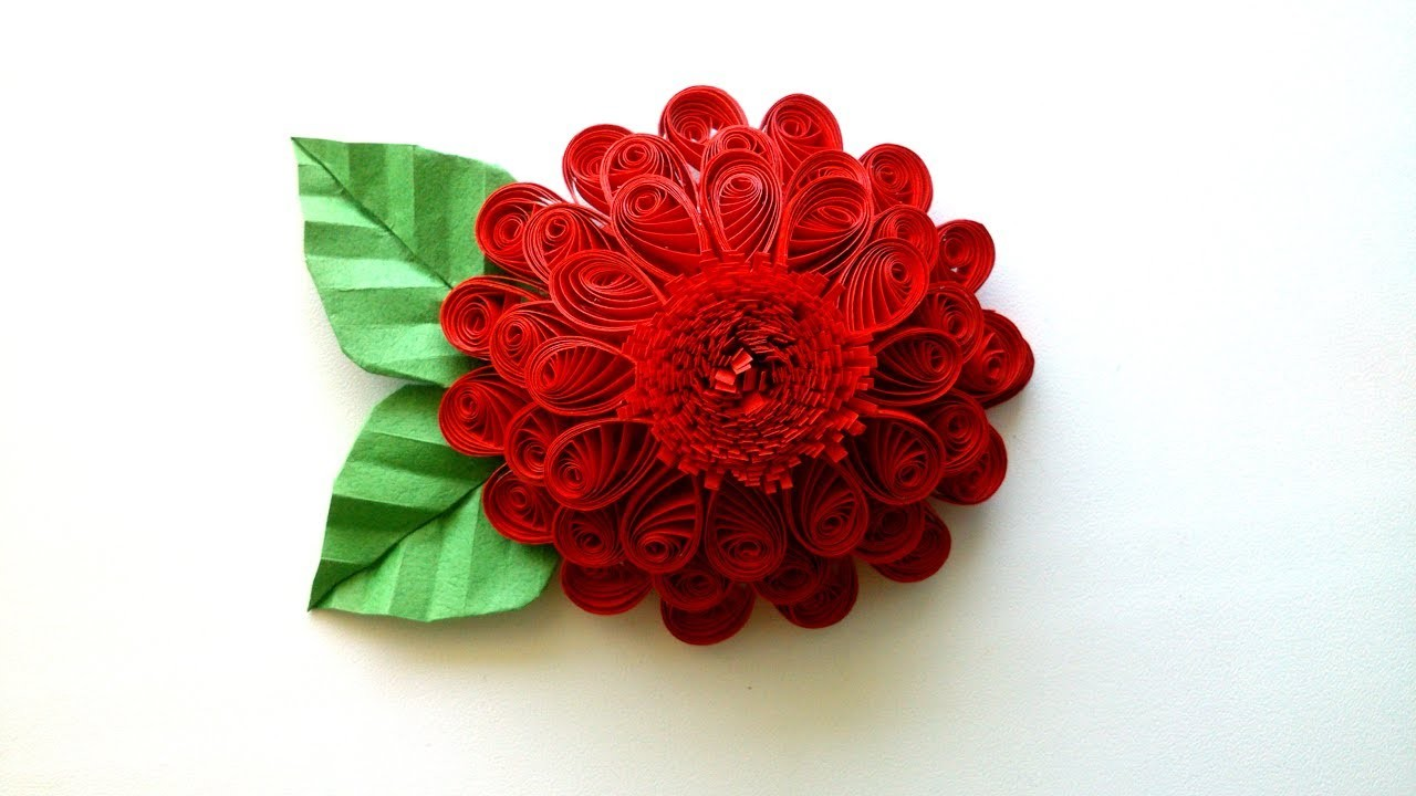how to make 3d flowers