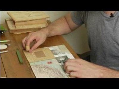 How to Make a Collage : Wax Seals & Collage Making