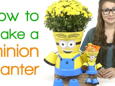 How to Make A Minion Planter