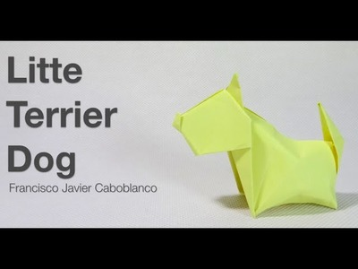 How to make a Paper Terrier Dog | Origami Terrier Dog | Easy Origami