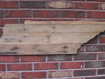 How to make a Simple Tennessee shaped pallet sign