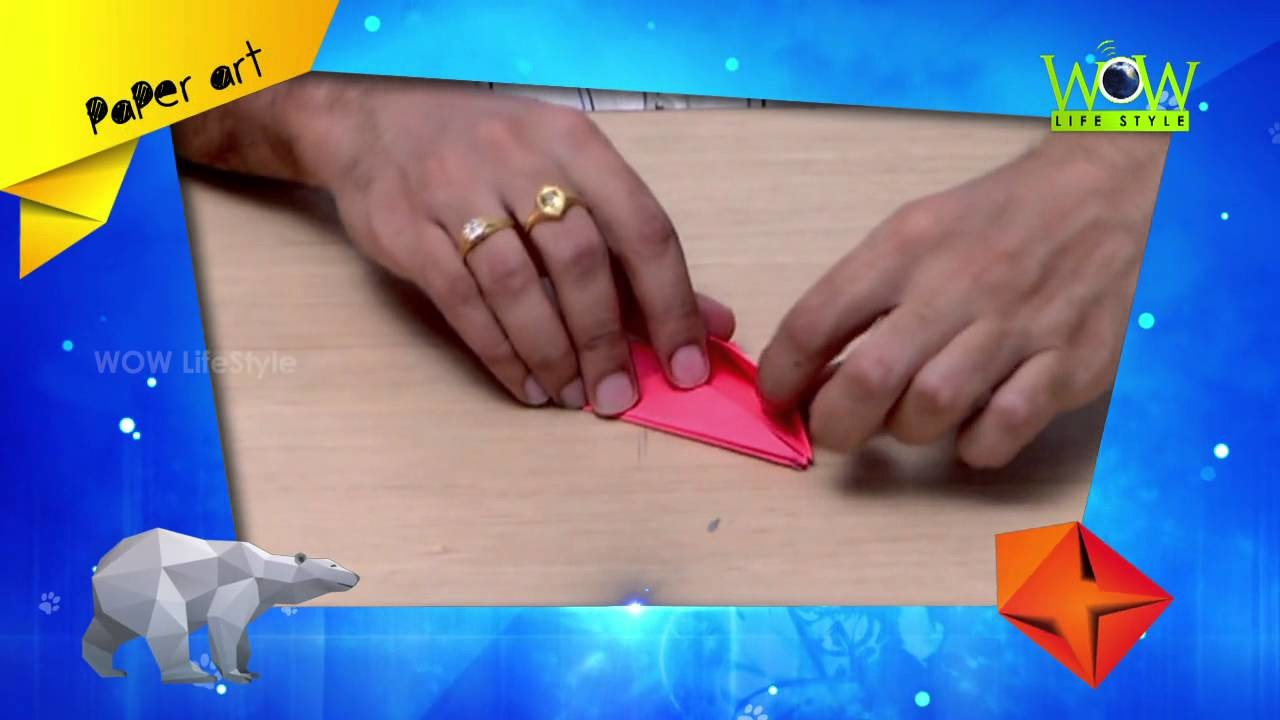 How To Make An Easy Origami Lotus Flower Full Hd