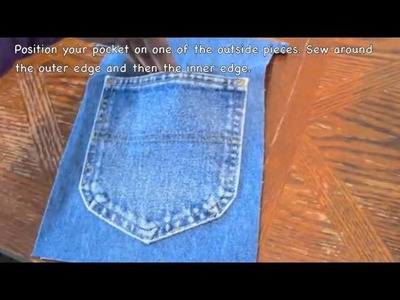 How to Make an Upcycled Pocket Pouch